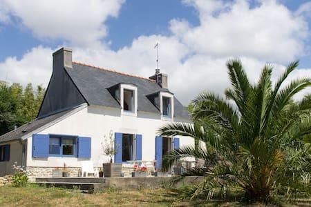 Maison confortable proche plages - Combrit - Huis