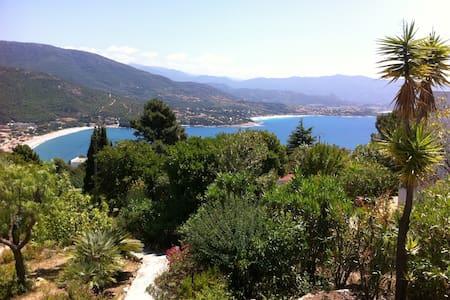 villa pleine vue mer - sagone