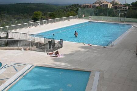 Très beau studio moderne, piscine - Mougins - Apartment