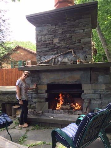 Catskills River House - Roscoe - Casa