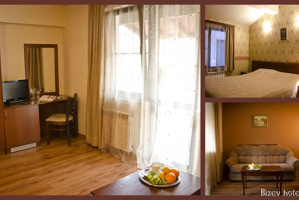 Bizev hotel apartment for two/ three guests