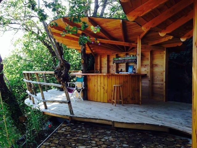 Cabane dans les cevennes - Saint-Roman-de-Codières