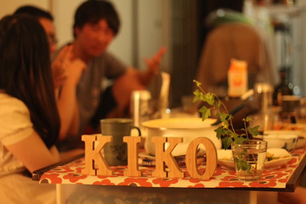 KIKObnb - welcome dinner