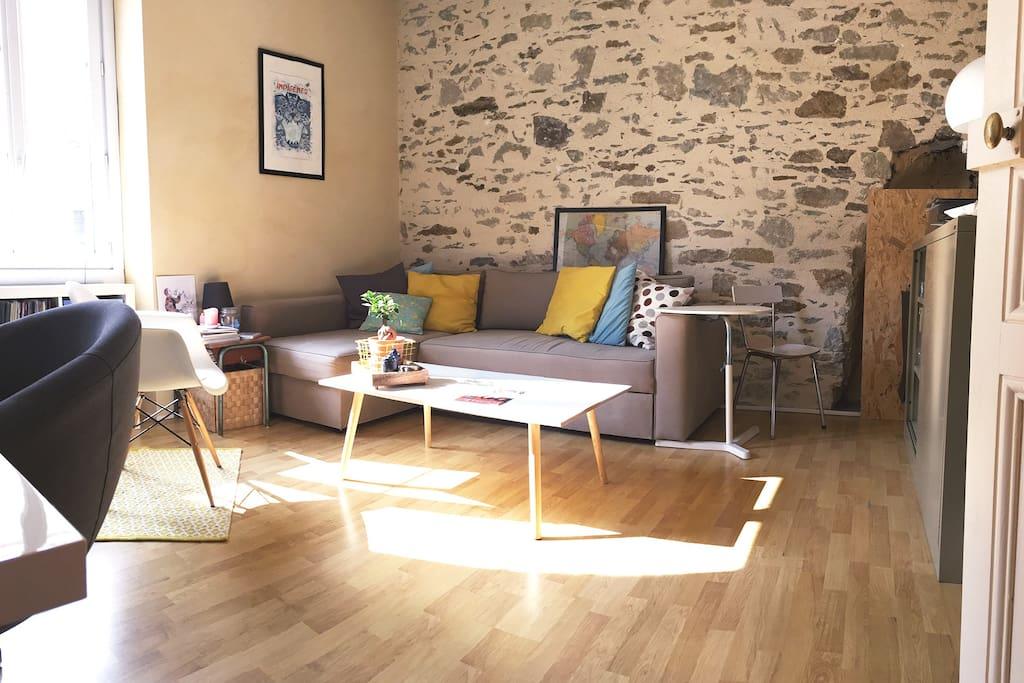 Beau t2 proche centre ville apartments for rent in for Beau jardin apartments reviews