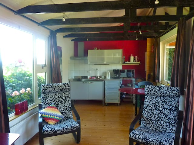 living + kitchen
