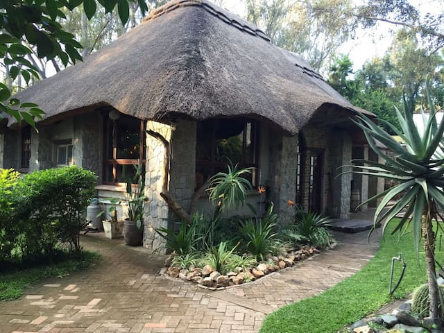 Unique thatch home - Bulawayo