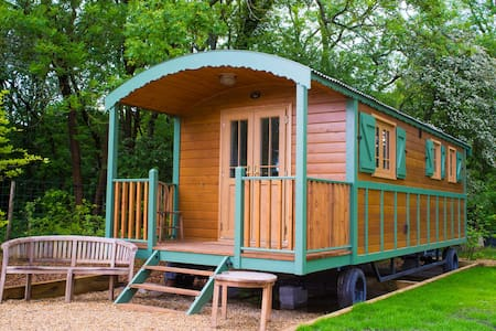 French Gypsy Caravan - Clayton - Hut
