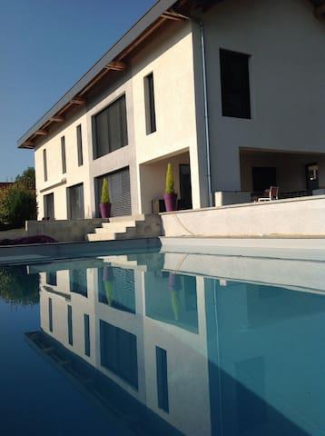 Maison au calme ... vue & piscine! - Boussy - Villa