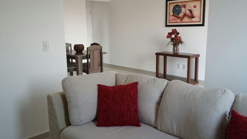 Apto totalmente mobiliado com TV e Wifi - Jundiaí - อพาร์ทเมนท์