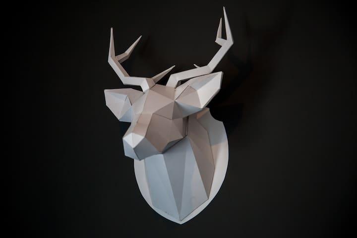 paper art dear