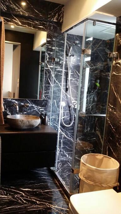Designer Marble bathroom