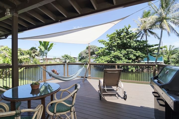 Waterfront Retreat by the Sea - Hauula