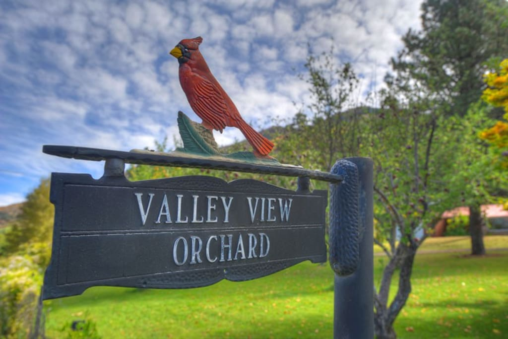 Historic apple orchard Durango Colorado vacation rental home Durango Valley Orchard Guest House