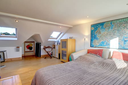 Super London Loft En-Suite Bio B&B - Londra