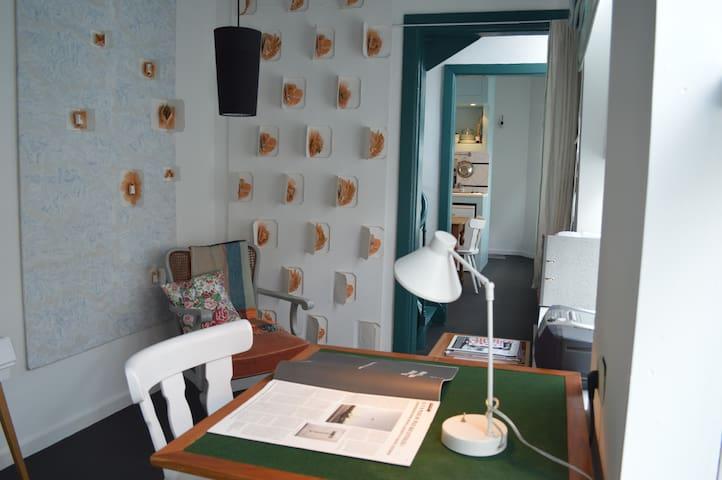 La maison couloir /coeur historique
