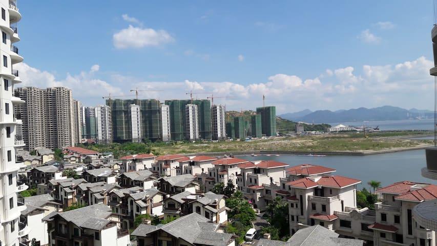 碧桂园十里银滩豪华海景三房 - Huizhou - Mobilyalı daire