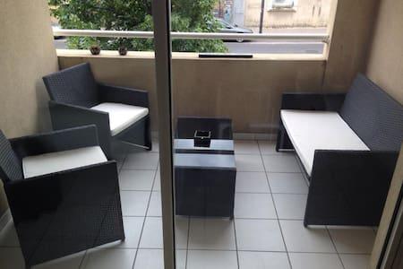 Beau T2 Centre - Terrasse - Parking