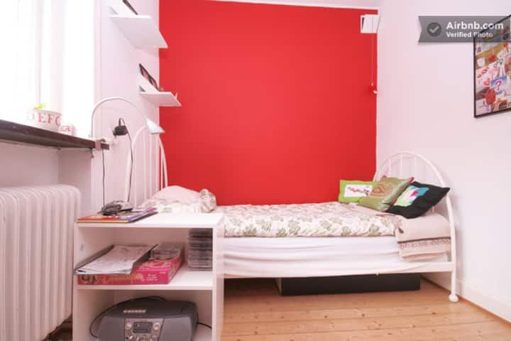 Cozy private room - The Red room