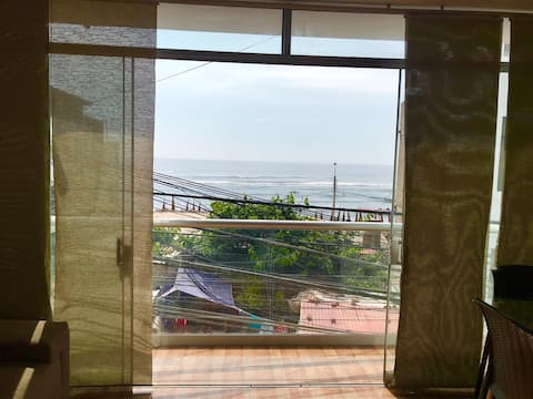>>Ocean view 1 bedroom apart. on Huanchaco Beach<<