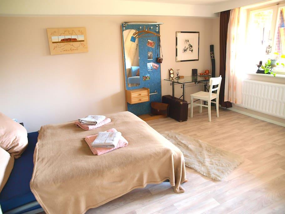 Das Schlafzimmer in neuem Glanz!