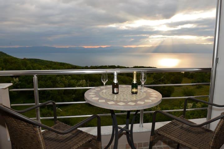 Velestovo magnificent view of Ohrid - Ohrid - Villa