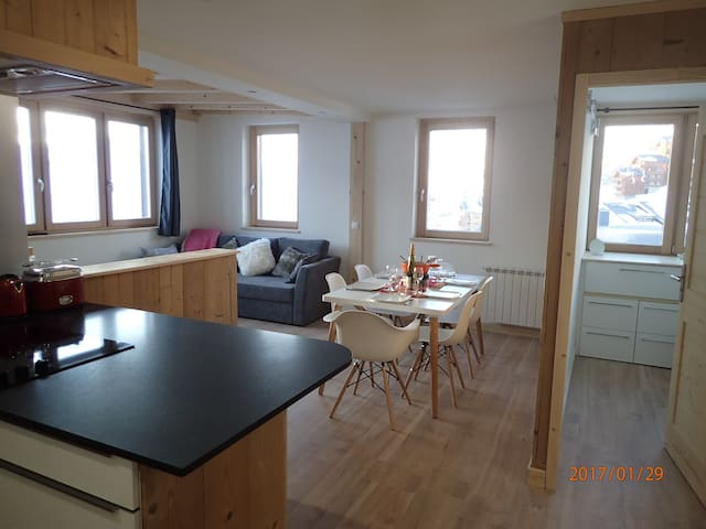 Gorgeous 6 person apartement in Val Thorens - Saint-Martin-de-Belleville - Appartement