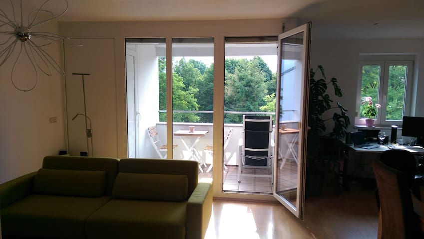 Modernes Studio im Chiemgau - Traunstein - Apartment