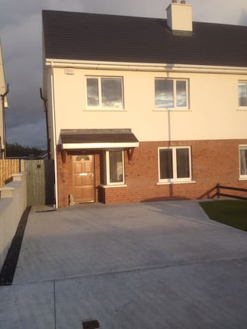Beautiful room in new house - Portlaoise - Casa