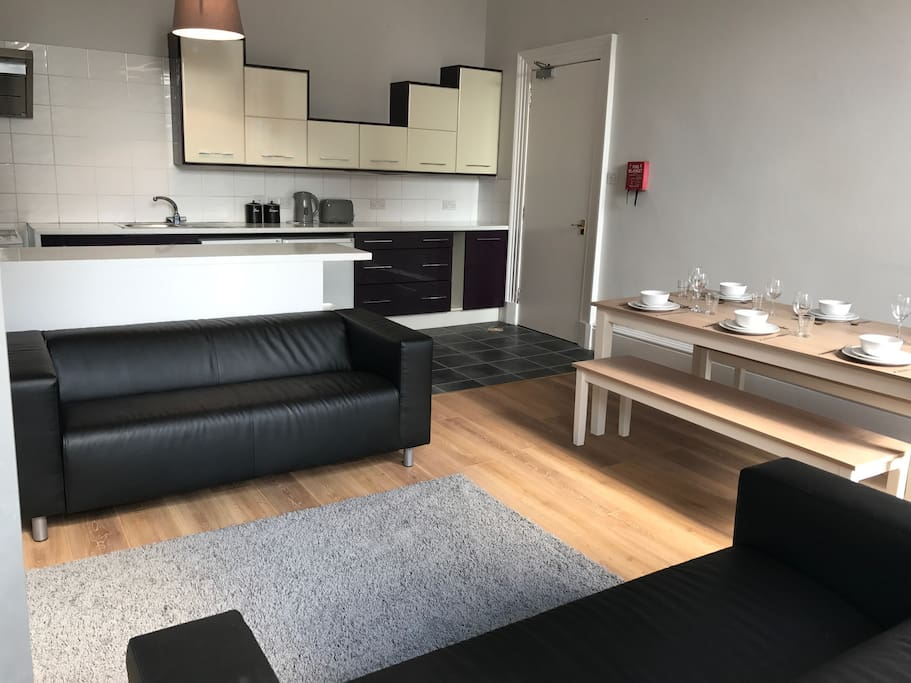 Living, Kitchen & Dining