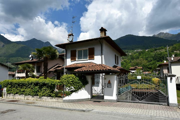 Luxurious Villa in Porlezza Lombardy with furnished terrace