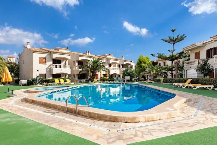 Luxuswohnung strandnah mit Pool, Whirlpool,Kamin