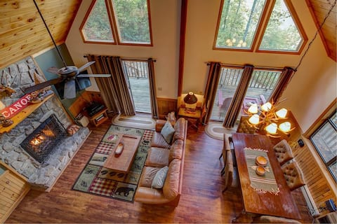 Free Adventure Passes + Secluded Cabin Deal's Gap