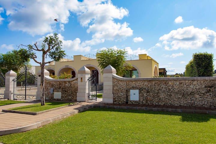 Villa a 10 minuti dal mare di Otranto