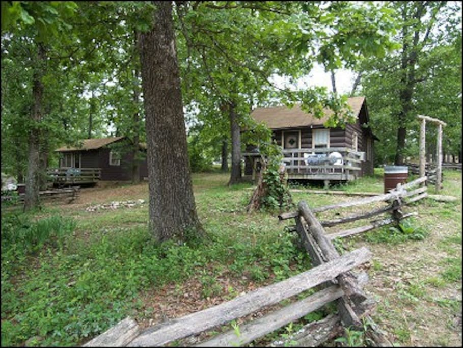 Pet Friendly Cabins On A Secluded Resort Cottages For