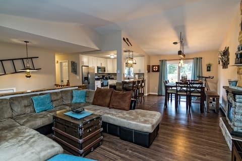 Cherry Lane Retreat, 6 Acres - Sauna/Spa/Pool/Golf