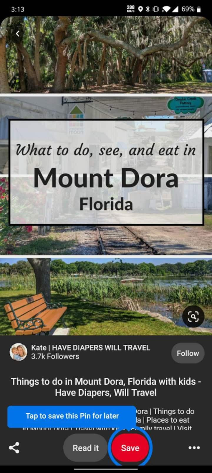 Downtown Mount Dora experience!