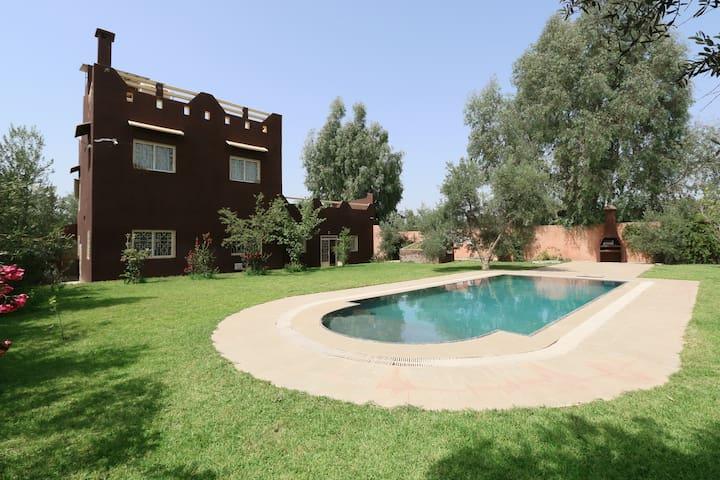 maison de vacances avec piscine - Marrakesch - Haus