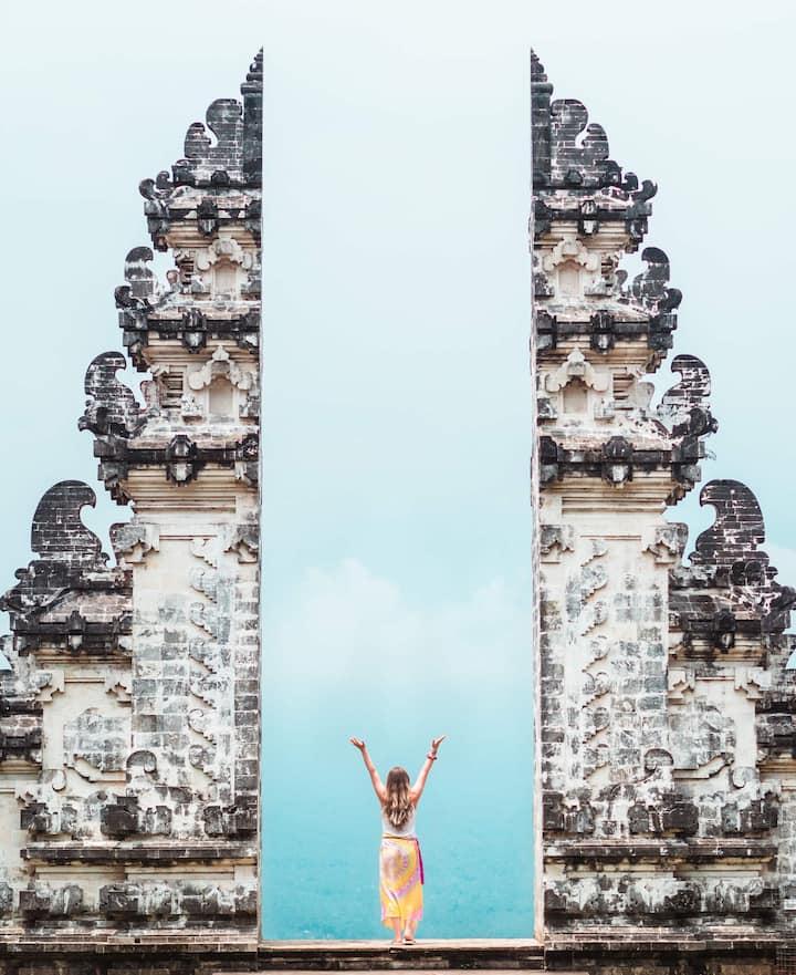 The Heaven Gates Lempuyang