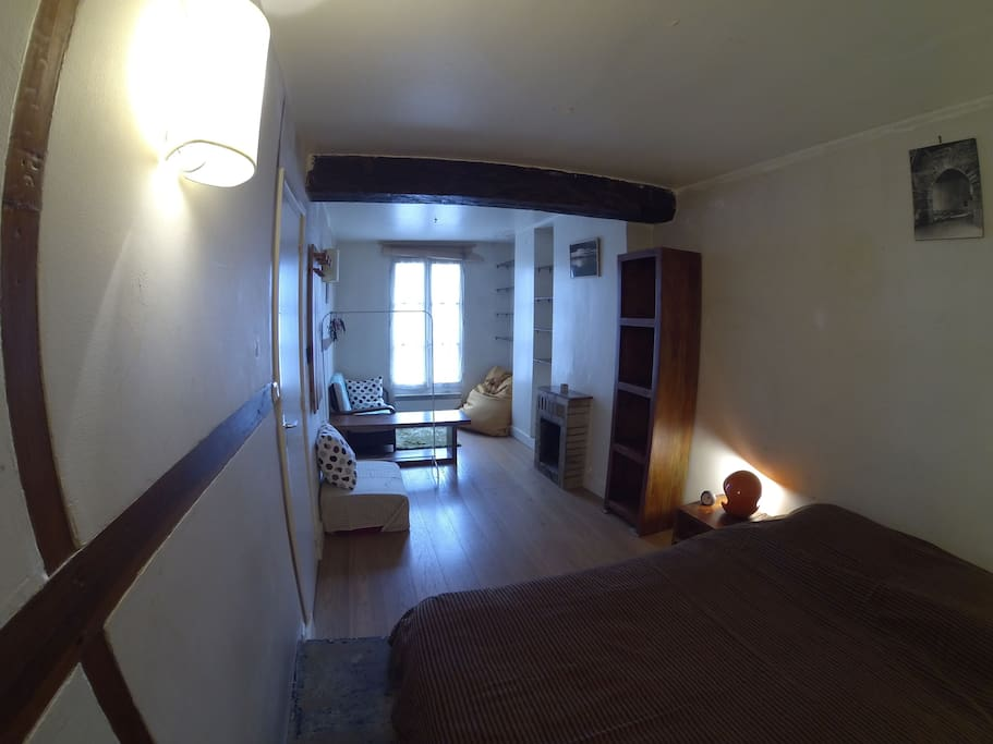 Chambre Double / Double bedroom / Quarto duplo
