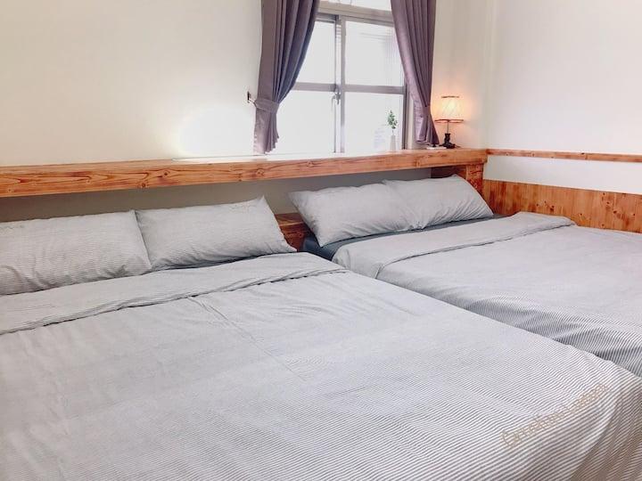 飛魚民宿.蘭嶼 Feayu Guest House  | 四人套房
