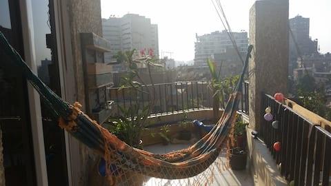Cairo Sky-Line in Zamalek