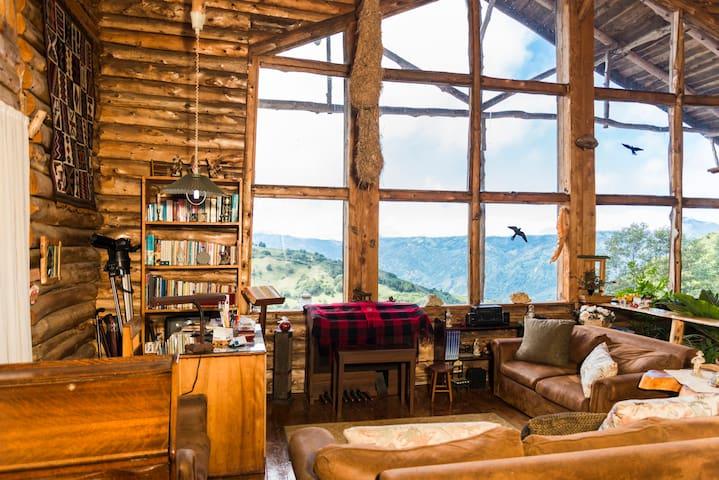 Cabaña Rustica, agradable Cedral Gr - Acosta, Cedral, San José - Blockhütte