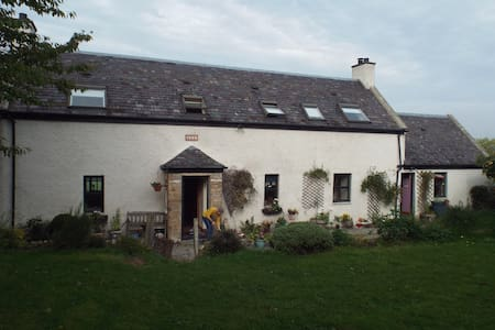 Country cottage on small croft. - Near Dingwall
