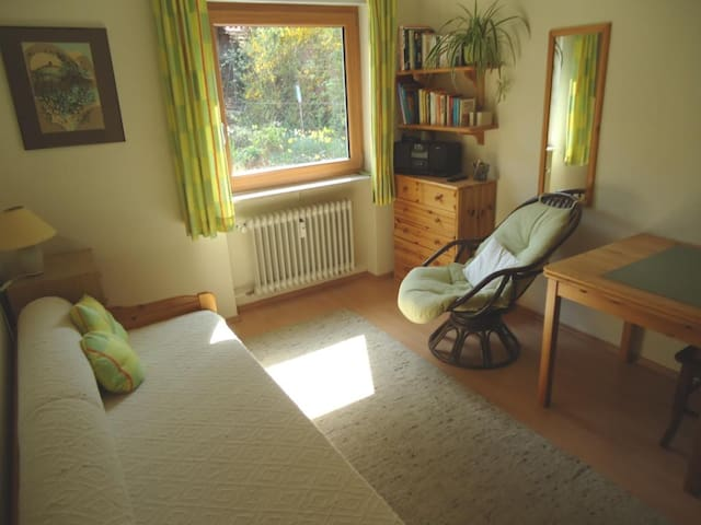 Cozy bedroom near Heidelberg and other nice places