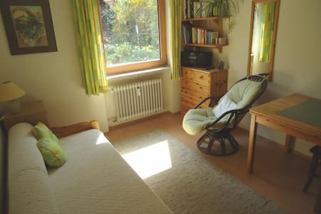 Cozy bedroom near Heidelberg and other nice places - Bammental - 公寓