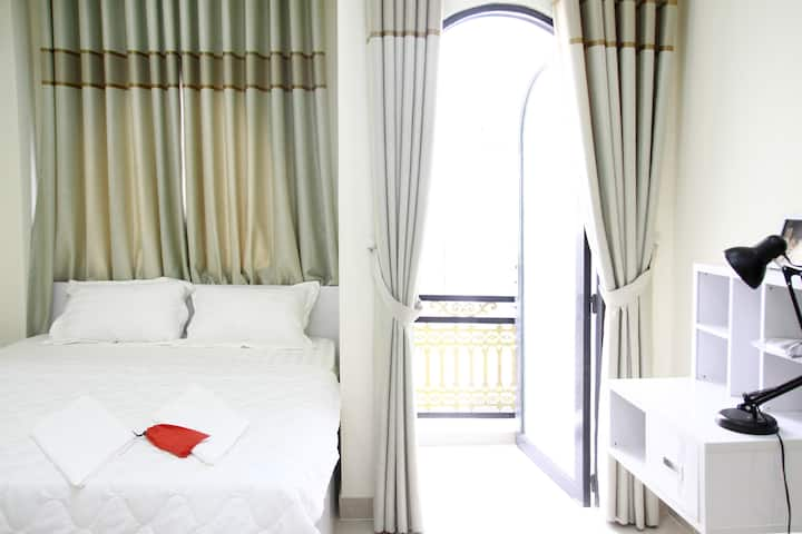 City view and shiny air deluxe room @D1, #city hub