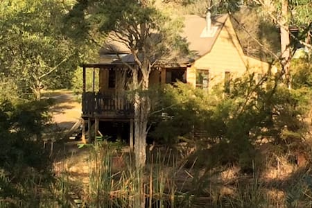 Billabong Cottage on 25 acres - Termeil