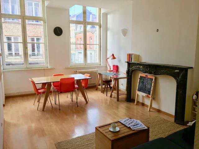 Séjour de charme dans le Vieux-Lille - Lille - Appartement