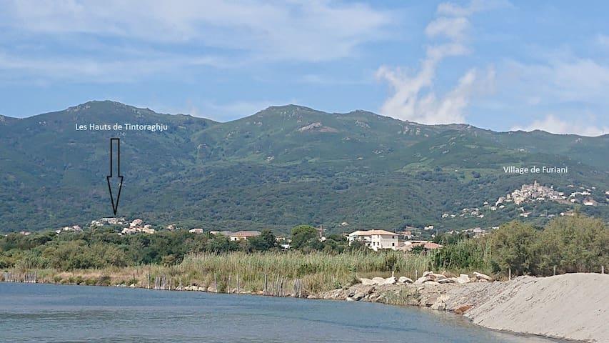 Situation Sud Bastia