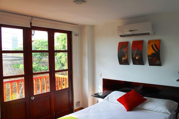 Habitación doble con balcón - Cartagena - Ev